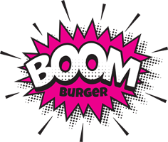 Logo - BOOM BURGER
